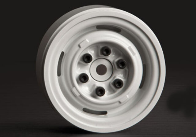 Gmade 1.9 VR01 beadlock wheels White 2pcs GM70106