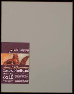 8x10 6 pack Jack Richeson High Density Tempered Hardboard