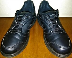70367955c54a7 Women's New Balance 674 Walking Shoes 8.5 2A Black Leather No ...