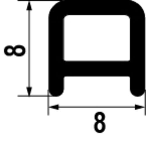 PRBE356 Schwallschutzleiste derby TS silber matt Schwallschutz Duschleiste