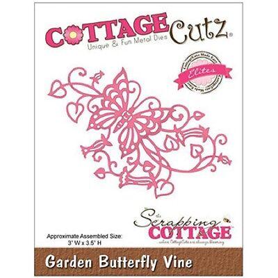 COTTAGE CUTZ ELITES Cutting die GARDEN BUTTERFLY VINE  CCE106 REDUCED  *