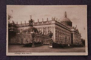 Tarjeta-Postal-Antigua-Alemania-Potsdam-Nuevo-Palacio-II