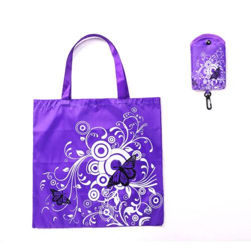 Cute Travel Foldable Handbag Grocery Tote Storage Reusable Animal Shopping Bag N