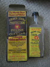 "World's Best Cleaner an Polisher Golden Star Russell Kanas 6.5"" in Box"