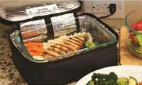 Lunch Box For Adults Portable Oven Black Mini Personal Food Warmer Office
