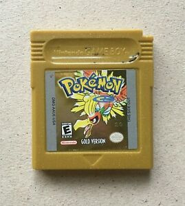 Authentic-Pokemon-Gold-Version-Nintendo-Game-Boy-Color-2000-Cart-Only-Tested
