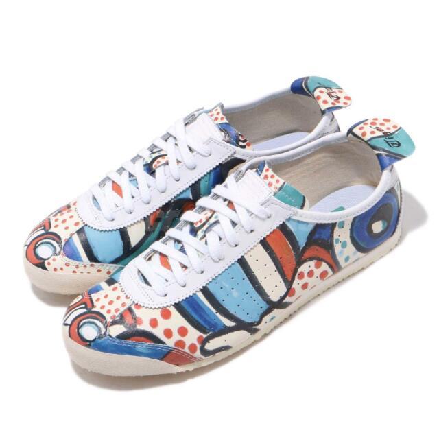 san francisco 2d914 12fdb Asics Onitsuka Tiger Mexico 66 Tsumori Chisato Cream Blue Men Shoes  D8H3K-0000