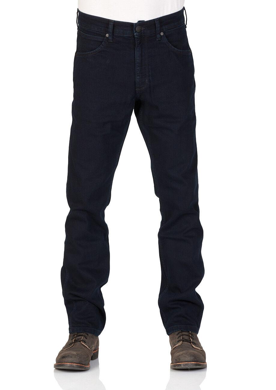 Wrangler Herren Jeans GrünsbGold - Regular Fit - Blau - - - schwarz Back 31c3d6