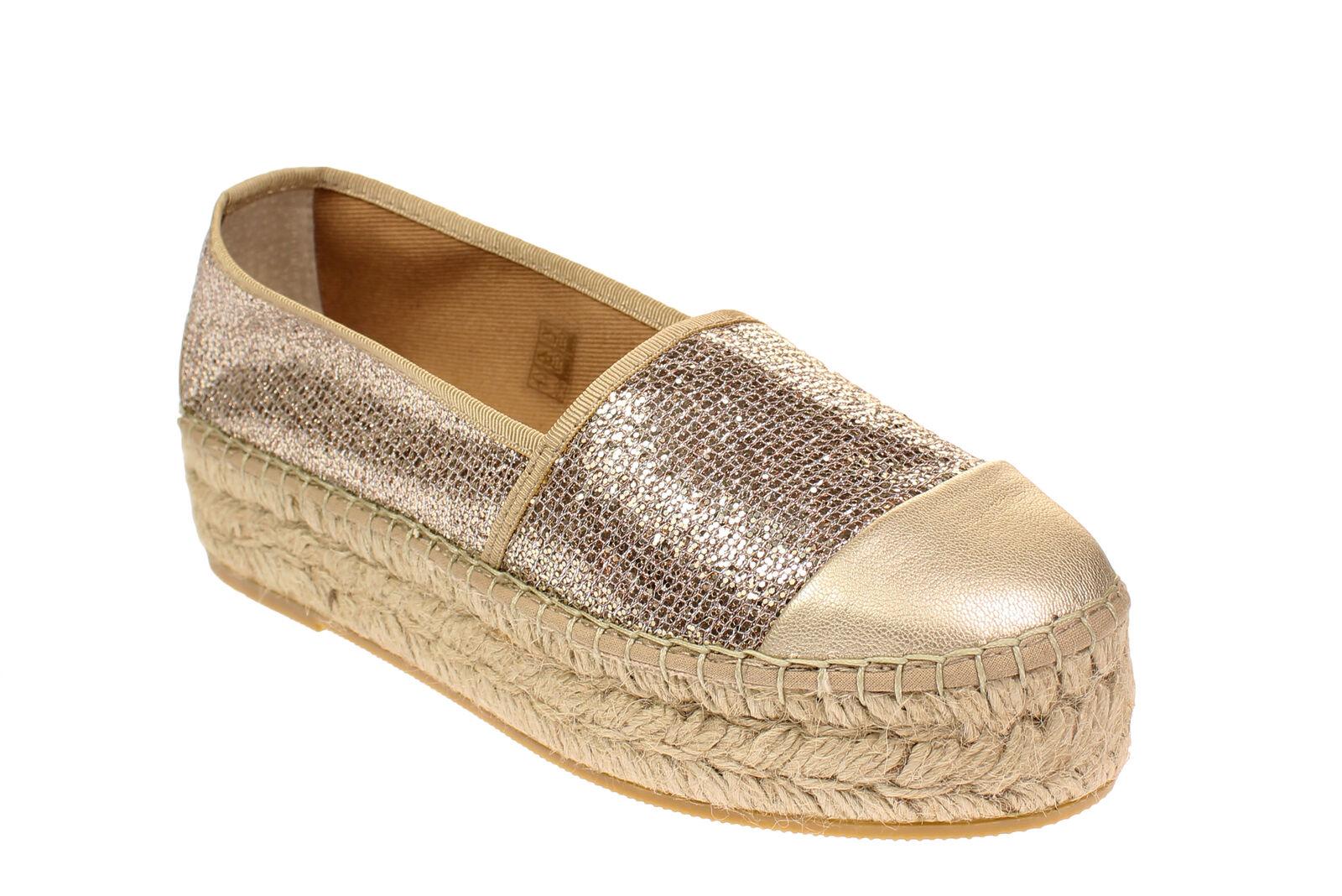 Vidoretta 00200 - Damen Schuhe Espadrilles Freizeitschuhe - Gold