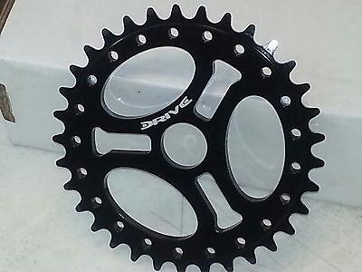 33t Black Anodize Drive BMX Ultra Light Compact Chainwheel