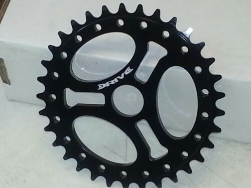 30t Black Anodize Drive BMX Ultra Light Compact Chainwheel