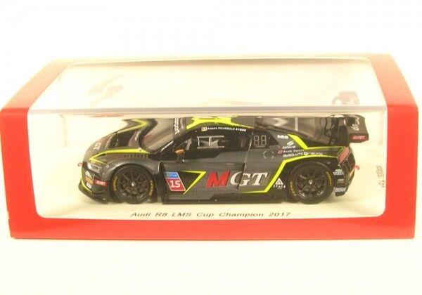 Audi r8 LMS gt3 No. 15 CUP CHAMPION 2017 (Alessio Picariello)