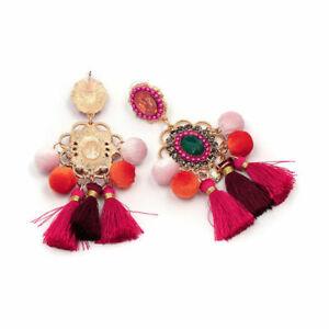 Handmade-Jewelry-Bohemian-Stud-Earring-Earrings-Boho-Gifts-Ear-Tassel-Stylish