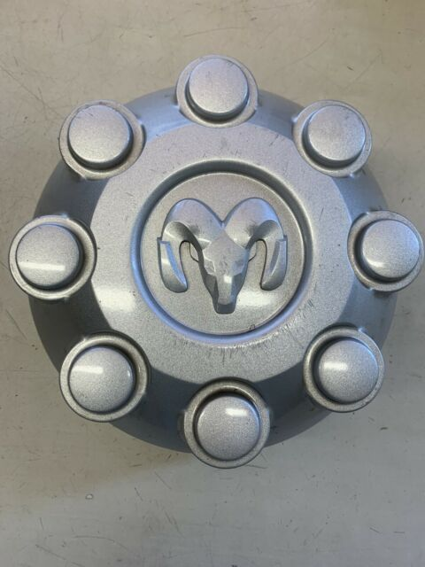 Genuine Factory OEM Dodge Ram Wheel Center Hub Cap Chrome 52121450AB