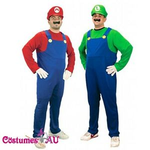 Mens-Super-Mario-Luigi-Brothers-Fancy-Dress-Up-Party-Costume-hat
