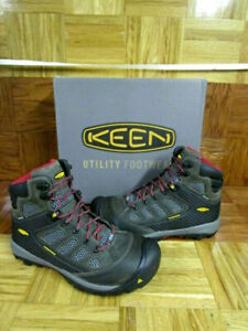 Keen Tucson  Magnet Chili Pepper  BOOTS MENS  Size 7.5 D STEEL TOE