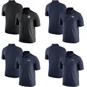 d516c8f5 NFL Coaches Elite Sideline Nike Dri-Fit Golf Polo Shirt Multiple ...