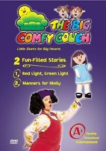 the big comfy couch red light green light manners for molly dvd 2004 823389324273 ebay. Black Bedroom Furniture Sets. Home Design Ideas