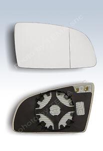 piastra vetro specchio AUDI A3 A6 2009  SX retrovisore asferico termico