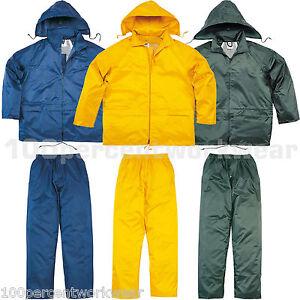 Delta-Plus-Panoply-EN400-Work-PVC-Waterproof-Rain-Suit-Jacket-and-Trousers-Kit