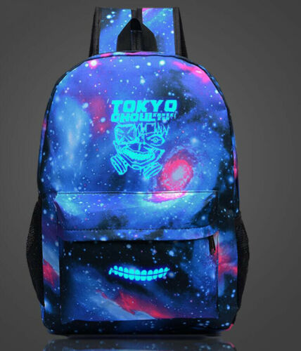 New Tokyo Ghoul Galaxy Luminous Backpack Anime Shoulders Bag Student School Bag