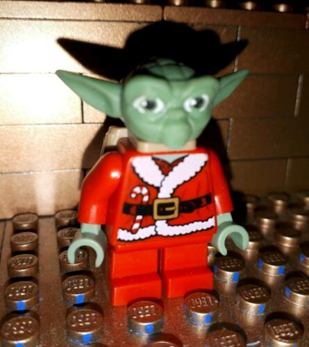 Lego Star Wars Figur Yoda Santa Weihnachtsmann Minifig 8018 852555