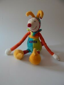 Moulin-Roty-Dragobert-clown-baby-rattle-comforter-soft-toy