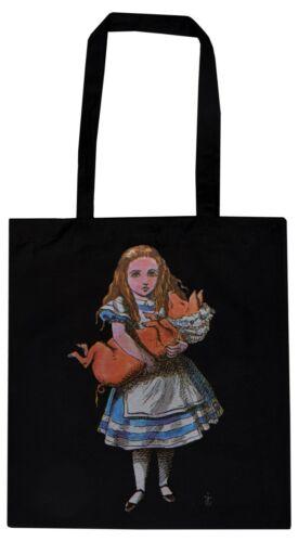 Alice/'s Adventures in Wonderland ECO Tote Bag Drink me Hatter Victorian Rabbit