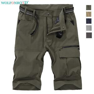 Men-Cargo-Shorts-Quick-Dry-Shorts-Outdoor-Hiking-Capri-Pants-Fishing-Work-Shorts
