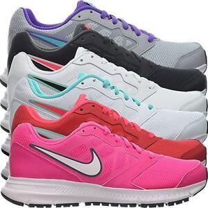 Details zu Nike Downshifter 6 grau schwarz weiß rot pink Damen Laufschuhe Freizeitschuhe