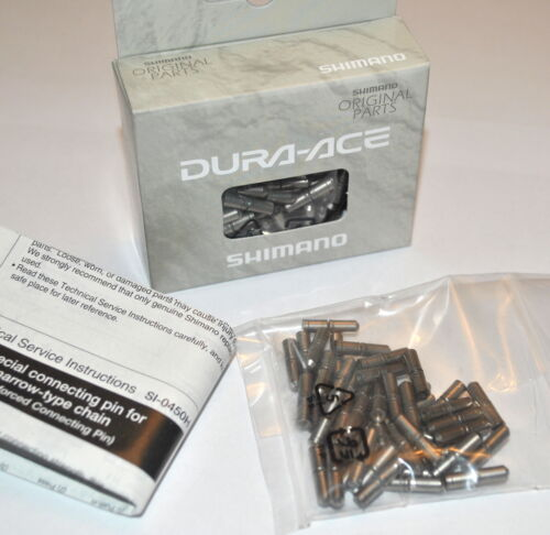 Shimano Dura Ace CN-7700 XTR XT 9 speed Chain Pins New and Genuine Split Pin