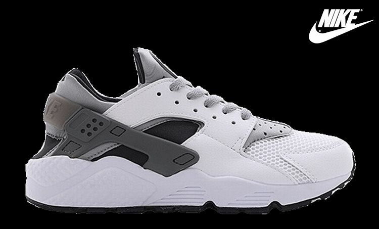 2015 Exclusive Nike Air Huarache White/Anthracite Wolf Grey/Black All Sizes