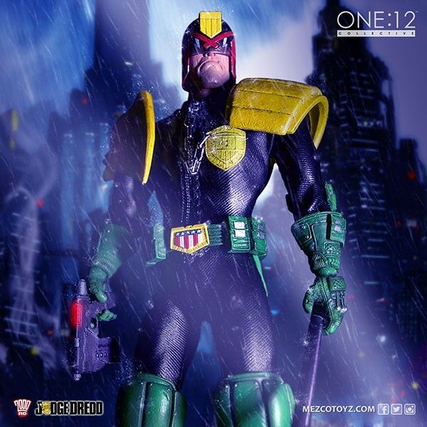 Judge DROTd - DROTd One:12 Scale Collective Action Figure
