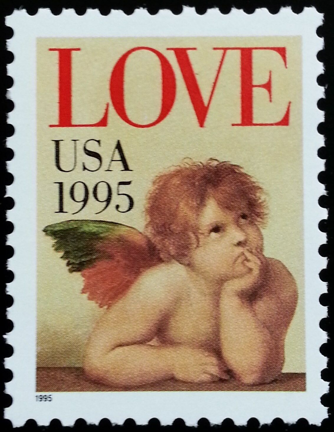 1995 32c Love & Cherub Scott 2948 Mint F/VF NH