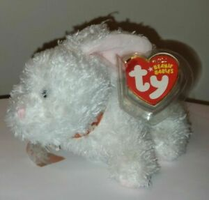 Ty Beanie Baby - NIBBLE the Bunny Rabbit (5 Inch) MINT with MINT TAGS