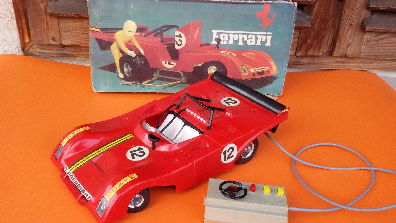 Vintage Rare Germany Piko Toy Ferari 312 Racing Car Toy + BOX
