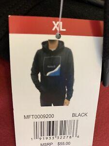 Hurley-Men-039-s-Pullover-Hoodie-Sweatshirt-Black-X-Large-NWT-Retails-55-00