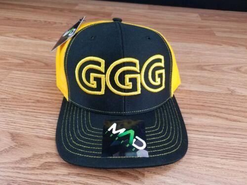 GGG Canelo Alvarez GOLOVKIN BOXING HAT BOXER CHAMPION SNAPBACK cap hat sports