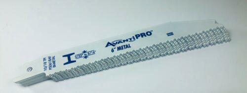 "Avanti Pro Recip Blades Bi-Metal 6"" 10//18 TPI PS0618AF Metal Cutting 100 PK"