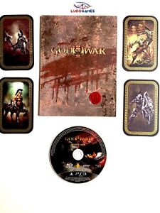 God-Of-War-3-Press-Materials-CD-PS3-PLAYSTATION-Videojuego-Unpublished-Matiere