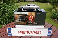 DEALER MODEL UT/MINICHAMPS 1:24 BMW 750IL TOMORROW NEVER DIES JAMES BOND RARE