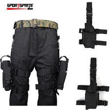 Taktisch Universal Jagd Pistole Fallen Bein Link/Recht Hand Halfter Left +Right