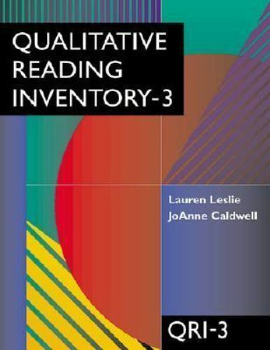 Qualitative Reading Inventory-3 (3rd Edition) by Caldwell, JoAnne, Leslie, Laure