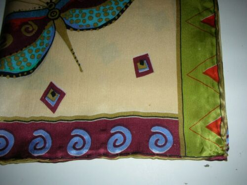 NEW 100/% Pure Silk Patterned Chinese Scarf #121