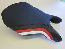 D13 Ducati 749/999 seat cover Fila colours Red/White/Blue- FRONT