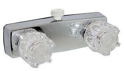 """3-3//8/"""" Mobile Home RV Chrome Two Handle Shower Valve with Shower Kit 30 PF213305"""