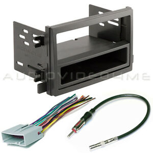 ford transit connect van radio mount car stereo dash ... custom 1950 ford wiring harness for #1