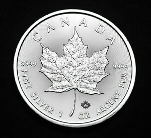 2020-5-Canada-Maple-Leaf-1oz-Fine-9999-Silver-one-of-the-purest-silver