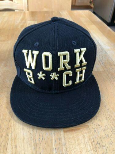 Britney Spears Work Bitch cap - black adjustable s