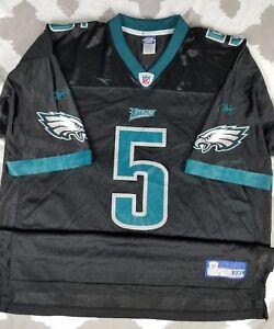 hot sale online d2240 1237d Details about Donovan McNabb Philadelphia Eagles Reebok Football Jersey 2XL  XXL Vintage Black